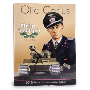 Otto Carius - Limited Edition Book Cover