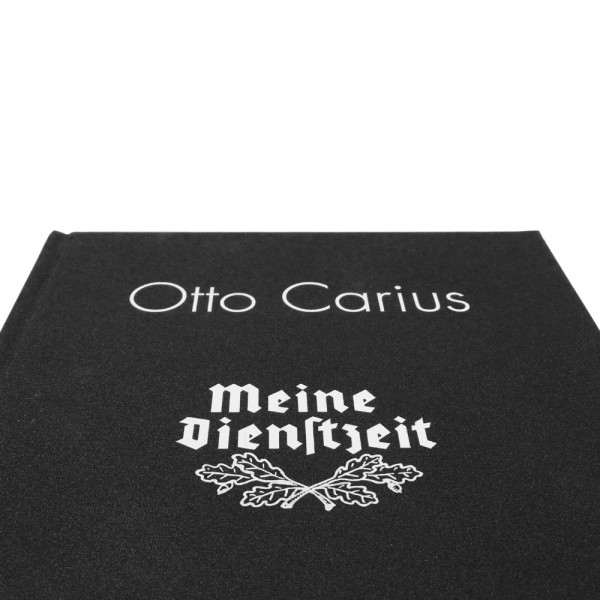 Otto Carius - Limited Edition Slipcase Closeup
