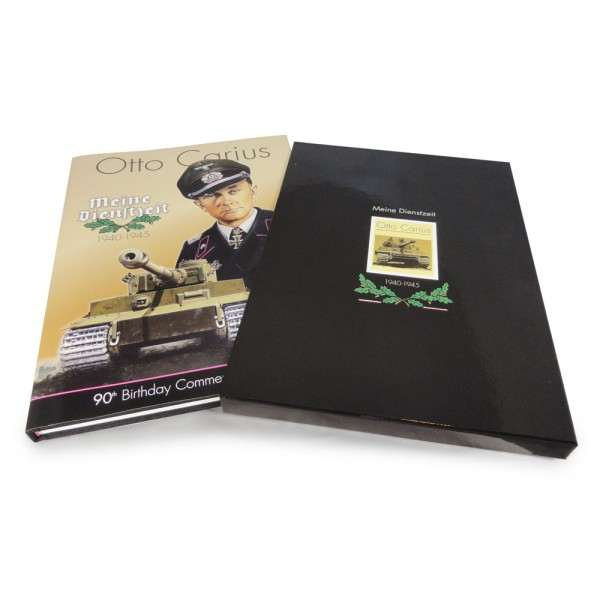 Otto Carius - Limited Edition Book and Slipcase