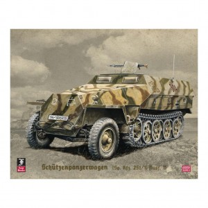 Illustration of a Schutzenpanzerwagen