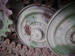 MUNSTER TIGER I - Road wheels