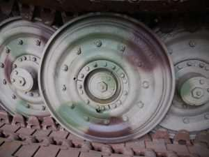MUNSTER TIGER I - Road wheel close up