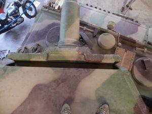 MUNSTER TIGER I - Gun Mantel and ventilator