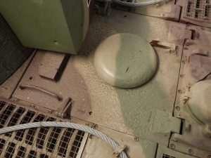 MUNSTER TIGER I - Engine deck