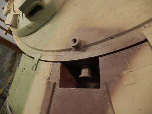 MUNSTER TIGER I - Rear turret lift bolt