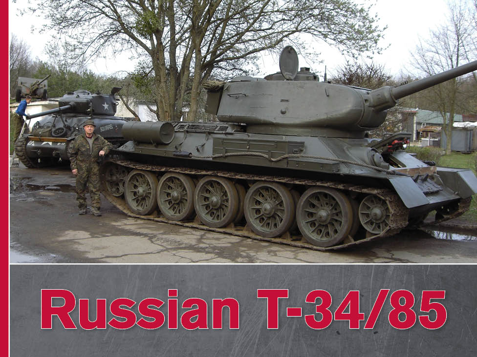 RUSSIAN T-34 - COVER IMAGE