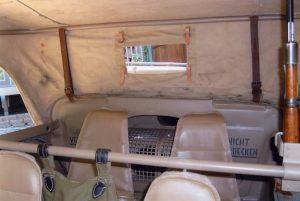 SCHWIMMWAGEN - Rear Seats